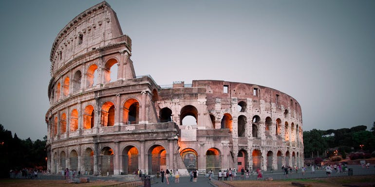 bucket list rome coliseum