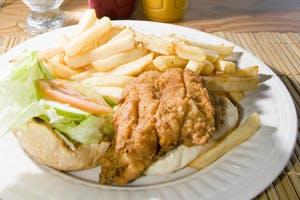 caribbean flying fish sandwich