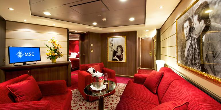 sophia loren royal suite