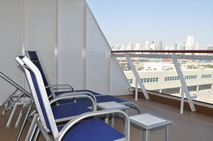 norwegian getaway aft mini suite balcony
