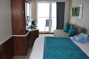 norwegian getaway family balcony cabin
