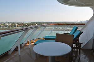 getaway haven aft penthouse large balcony