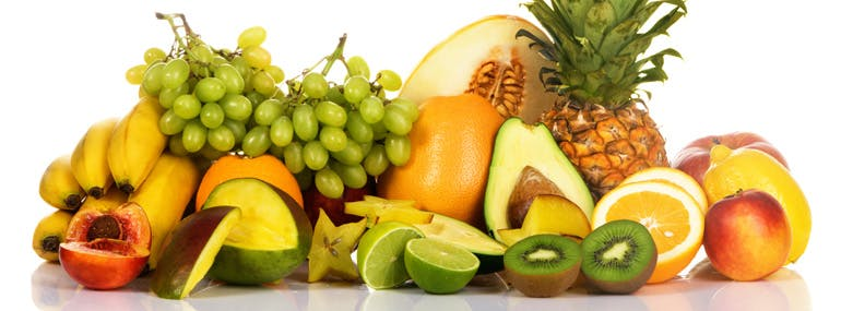 You identify most with the following fruits: