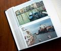 scrap book filled with scrapbooking photos