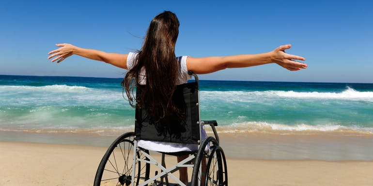 beach wheelchair cruise handicap disability