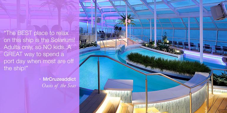 royal caribbean solarium allure oasis tip