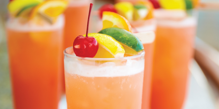 princess cruises paradise punch cocktail recipe