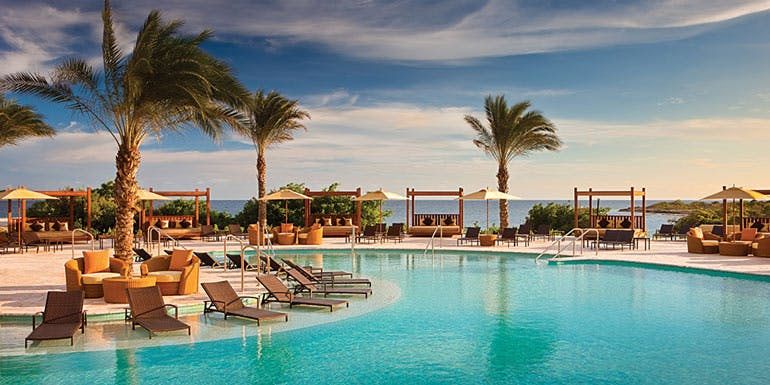 resort day pass cruise curacao pool