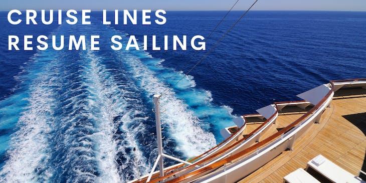 When Will Cruise Lines Sail Again