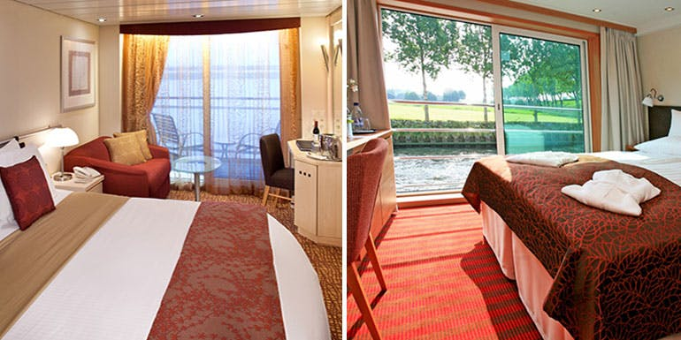 river ocean cruise cabins