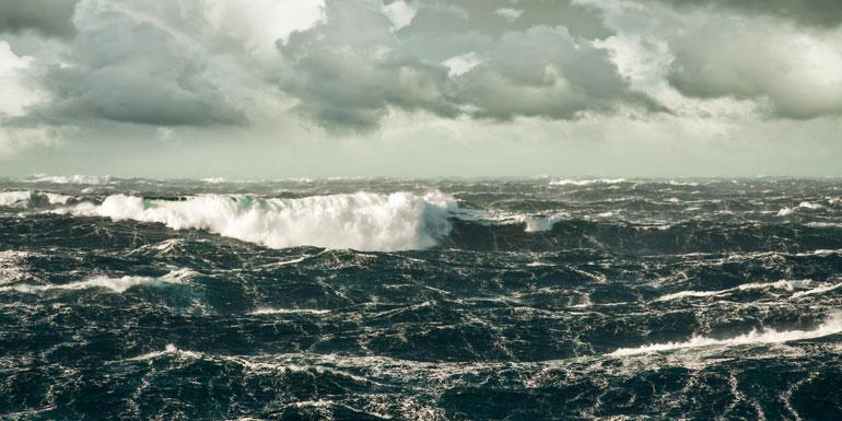 atlantic pacific cruise rough water seas