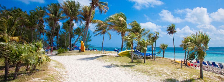 Which private island is owned by Royal Caribbean?