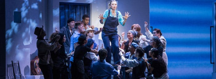 You can see any of the following shows with Royal Caribbean's Broadway at Sea program EXCEPT for: