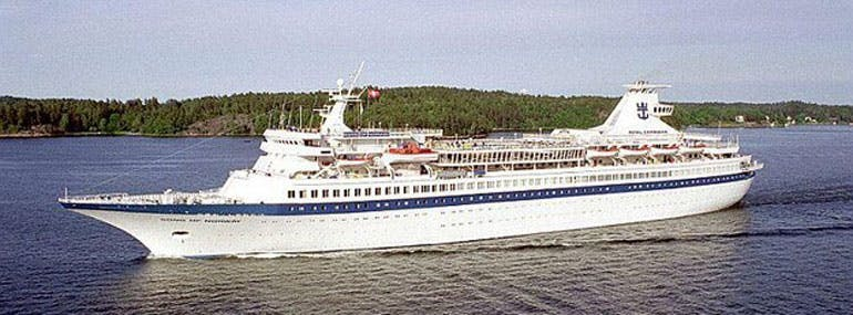 Considering, their future competition, It's ironic that Royal Caribbean's first ship was named __________.