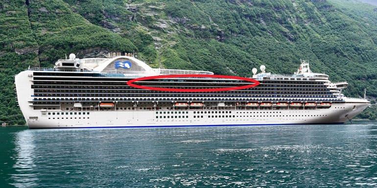 best cruise cabin seasick sea sick