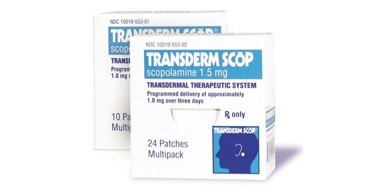 transderm scop sea sick seasickness cruise
