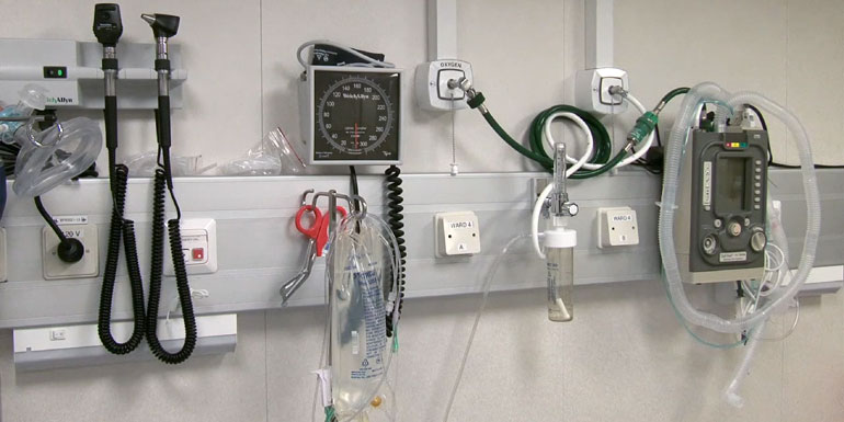 equipment sick on a cruise ship