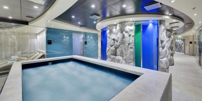 msc meraviglia spa thermal suite pool