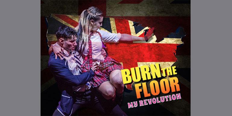 burn the floor cruise ship show