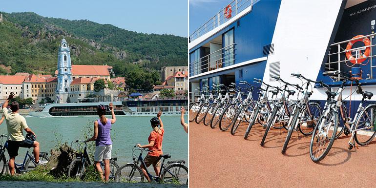 oceania bikes cruise fitness exercise excursion