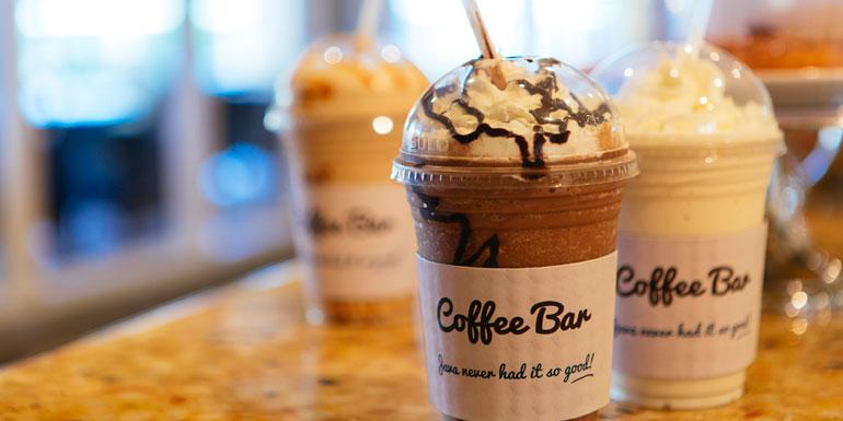 extra cost cruise coffee milkshake carnival