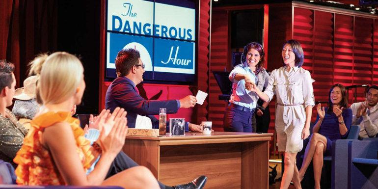 princess cruises live entertainment mystery show