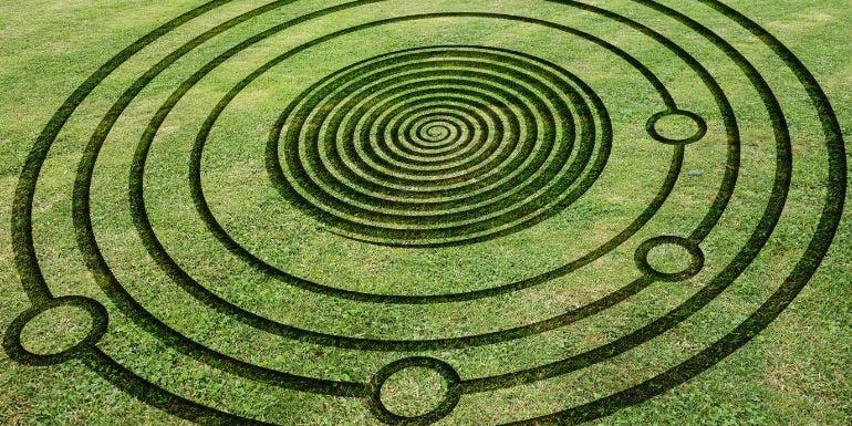 conspiracy cruise theme crop circles aliens