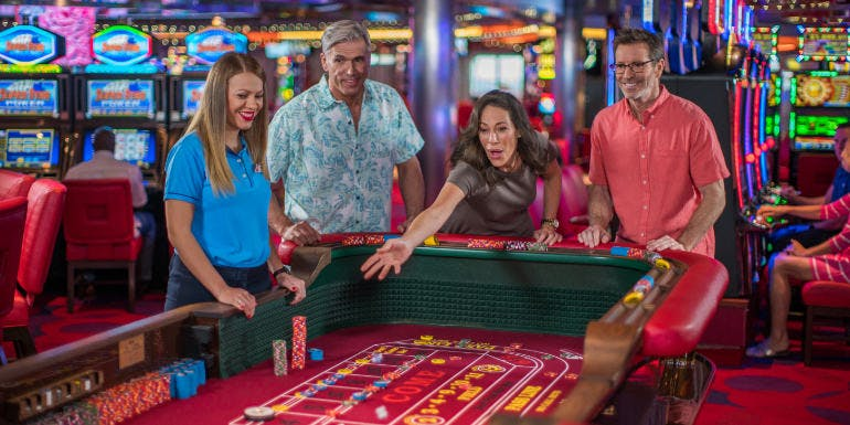 carnival cruise casino first time lessons