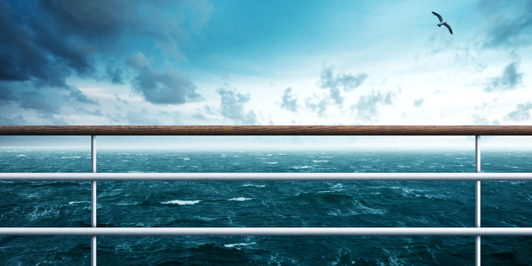 storm seasick cruise