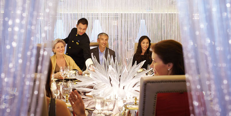 chefs table princess best cruise food