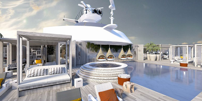 celebrity retreat cruise vip experience