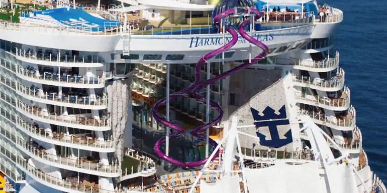 ultimate abyss water slide cruise ship