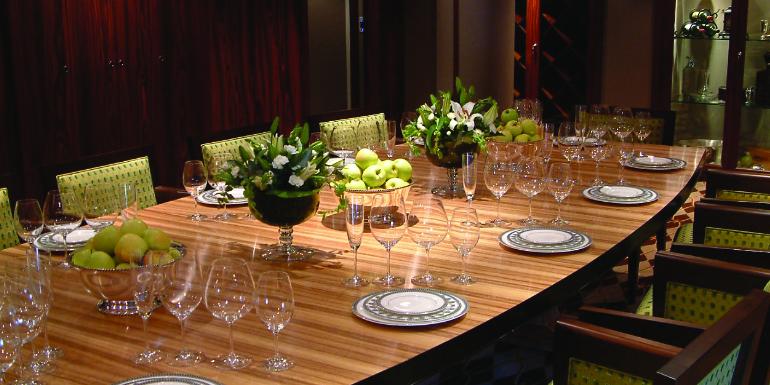 crystal cruises vintage room dinner dining