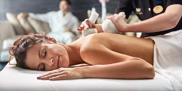 princess cruise lotus spa massage splurge