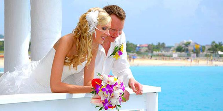 married cruise ship wedding