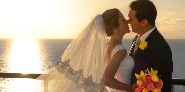 married wedding cruise ship ceremony onboard