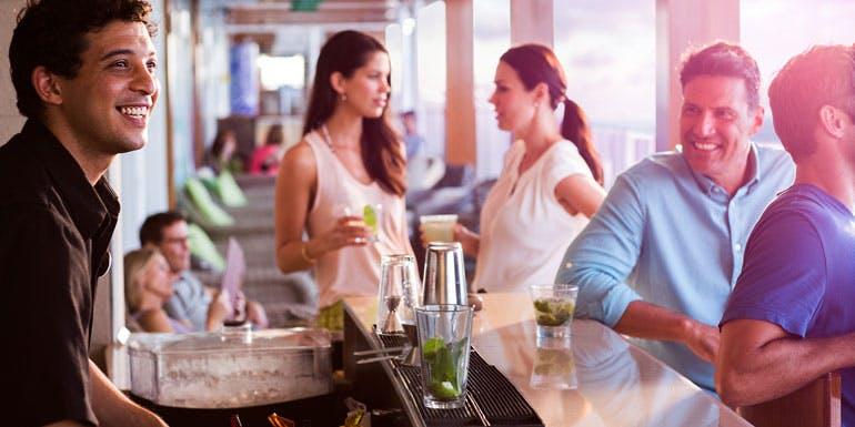 bartender norwegian weird cruise reviews 2015