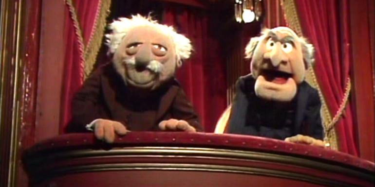muppets theater statler waldorf weirdest reviews