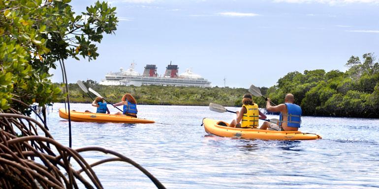 kayak disney shore excursion