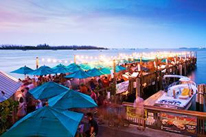 Sunset Pier restaurant key west florida