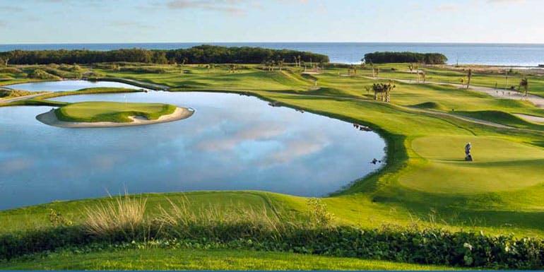 black pearl golf course pristine bay