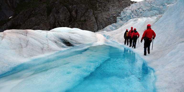 glacier trekking alaska shore excursion