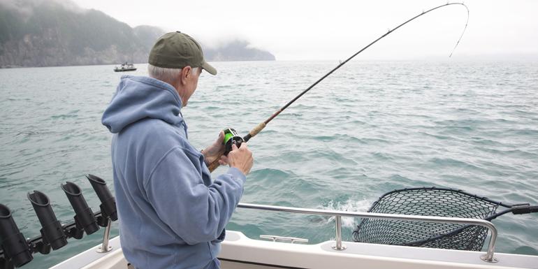 salmon fishing alaska shore excursion cruise