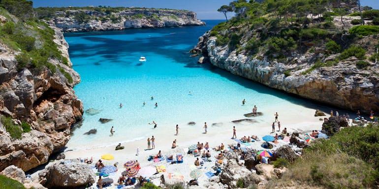 mallorca mediterranean beach