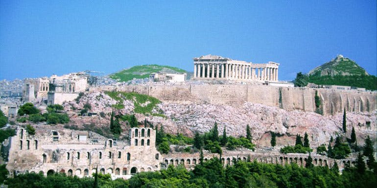 acropolis athens cruise excursion mediterranean