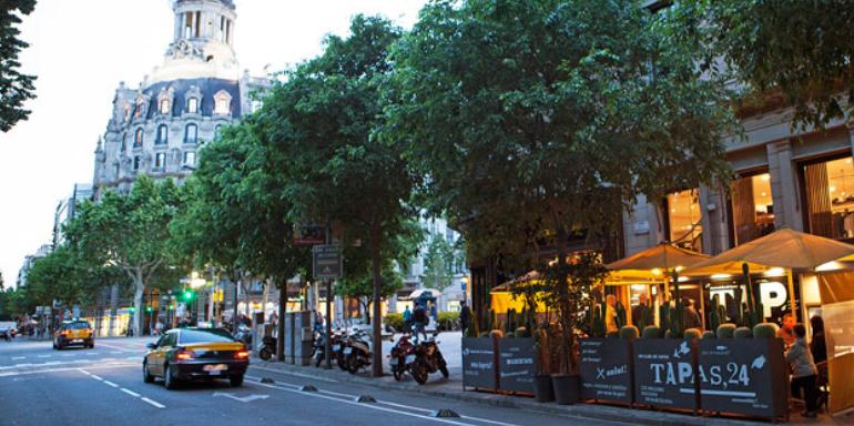 barcelona spain tapas 24 restaurant food