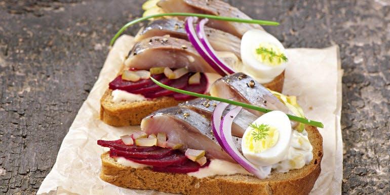 rye bread sandwich copenhagen denmark cruise