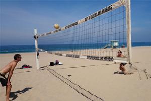 beach volleyball los angeles