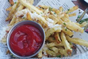 rockefeller parmesan french fries johnny jet
