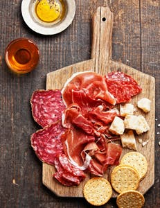 meat and crackers rome italy